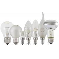 Лампа накаливания А50 230-75 Е27 Народная
